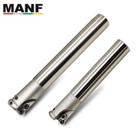 MANF TRS-6R32-160-C25-2T RD Carbide Inserts Alloy End Mill Arbor Milling Cutting Machining Round Nose Milling Cutter Shoulder