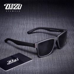 20/20 Классические поляризованные солнцезащитные очки, мужские очки, очки для вождения, черная оправа, очки для рыбалки и вождения, мужские со...