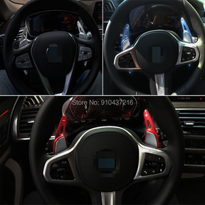 Image 5 - For Subaru Legacy Forester Outback WRX Levorg XV Aluminum Car Steering Wheel Shift Paddle Shifter Gear Extention
