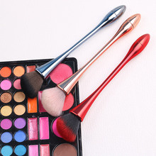 цена на 1pc Powder Foundation Brush Makeup Brushes Set Professional Cosmetics Brushes Eye Shadow Lip Brushes Set Face Beauty Makeup Tool