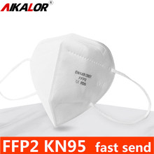 1-50PCS 5 layers KN95 Mask Face FFP2 Mask Mouth Maske Safety Masks Soft 95% Filtration PM2.5 FFP2mask Anit Dust CE Certification