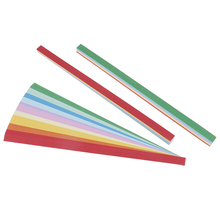 10 color mixed candy paper Handcraft Origami Lucky Star Paper Strips Home wedding Decoration