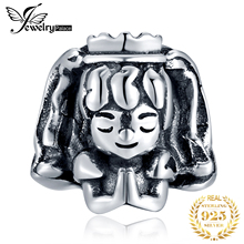 JewelryPalace Girl 925 Sterling Silver Beads Charms Original Fit Bracelet original Bead For Jewelry Making