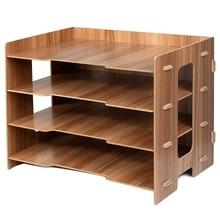 File Sorter A4 Doent Desk Tidy Organizer Storage Rack Tray Holder Office Stationery Supplies