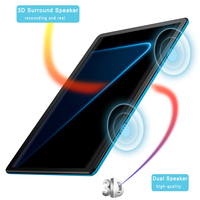 10.1 Inch Tablets Android 9.0 4GB + 64GB 4G Phone Call Smart Pc Android Tablet Android, Tablet Phone,Android tablette,Touch Pen 2
