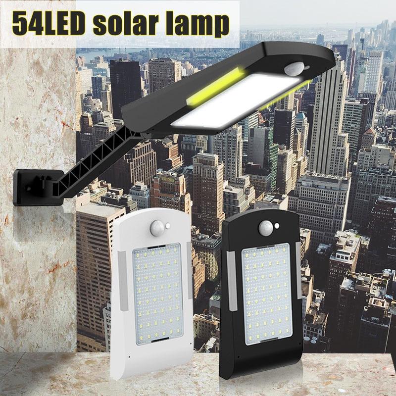 36LEDs PIR motion sensor Solar Straße licht 3 modi Outdoor solar licht wand lampe Wasserdicht Energiesparende Yard Pfad hause Garde (7)