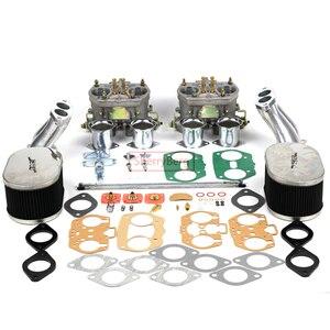 Image 1 - SherryBerg Carburettor CarbชุดสำหรับVW TYPE 1 FAJS HPMX WEBER IDF DUAL 40Mm CARBชุดT1สูงเชื่อมต่อคุณภาพดี40
