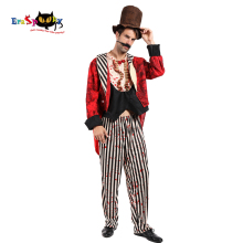 Halloween-Costume Suit-Hat Cosplay Circus Men Eraspooky for Adult Horror Zombie Magician