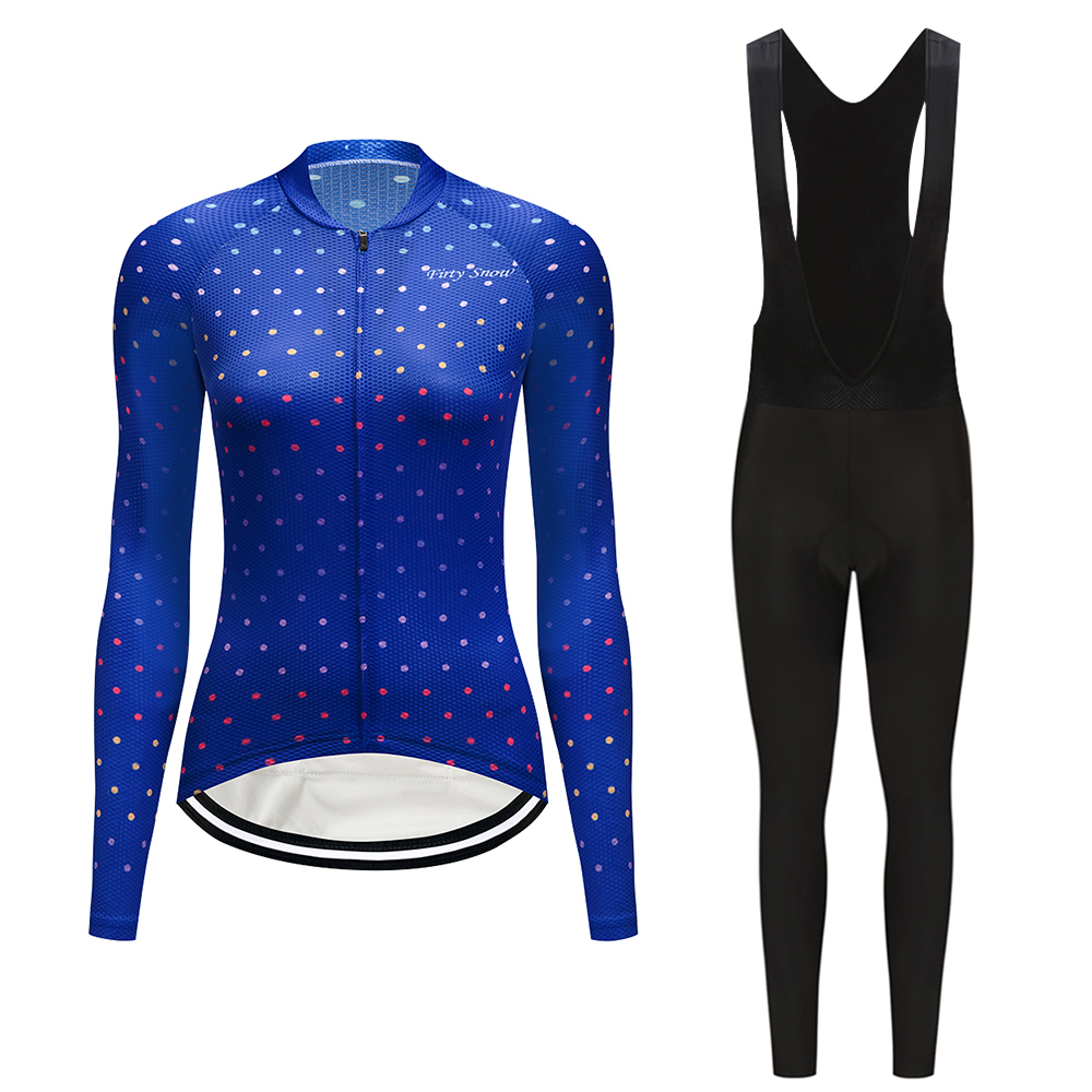 2019 Cycling clothing woman Spring/Autumn mountain bike wear ciclismo clothes kit female triathlon suit bicycle jersey set dress