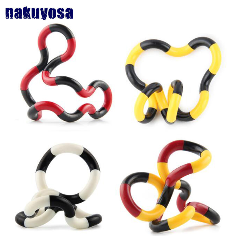 Random Send Fidget Anti Stress Toy Twist Adult Decompression Toy Child Deformation Rope Perfect For Stress Kids To Play Toys