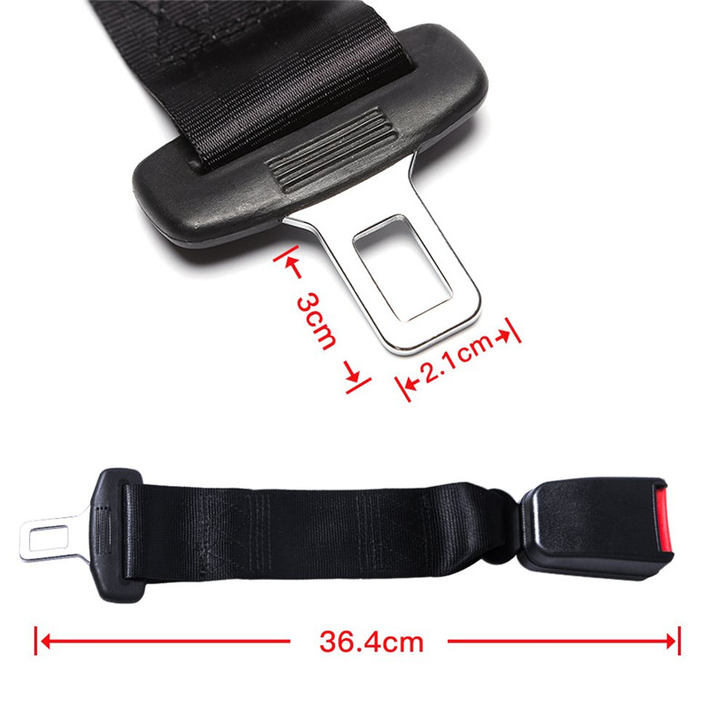 3 Pack Seat Belt Extender Seat Belt Buckle Extention E11 Safety Certified Suitable for Most Cars