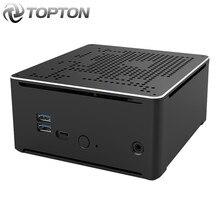 TOPTON Intel Mini PC i9 10880H i9 9880H i7 9850H 2 Lans 2*DDR4 64GB 2*M.2 PCIE+SATA Gaming Computer Win10 Pro 4K HDMI DP AC WiFi