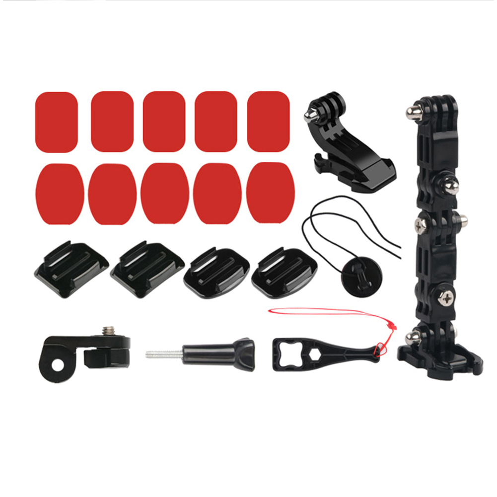 NEW Action Camera Stand Motorcycle Helmet Chin Mount Stand for Gopro Bicycle Helmet     - title=