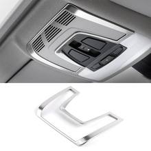 Car-Styling Interior Front Reading Light Lamp Frame Cover Trim For BMW 1 2 3 4 Series 3GT F20 F30 F31 F32 F34 F36 F48 F15 F16 for bmw e90 e92 e93 f20 f21 f30 f31 f32 f33 f34 f15 f10 f01 f11 f02 g30 m performance side skirt sill stripe body decals sticker