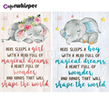 Алмазная живопись 5D, квадратная/круглая вышивка, слон для новорожденных девочек и мальчиков, алмазная вышивка, вышивка крестиком, искусство...