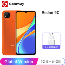 Xiaomi Redmi 9C 64GB 3GB GSM/WCDMA/LTE Bluetooth 5.0 Octa Core Fingerprint Recognition
