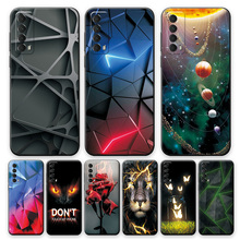 For Huawei P smart 2021 Case Cover For Huawei Y7A Silicone Back Cover Case For Huawei