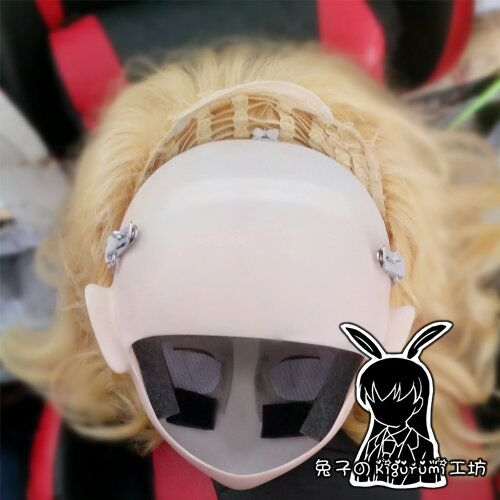 papel japonês ump9 kigurumi máscara crossdresser boneca transgênero máscara