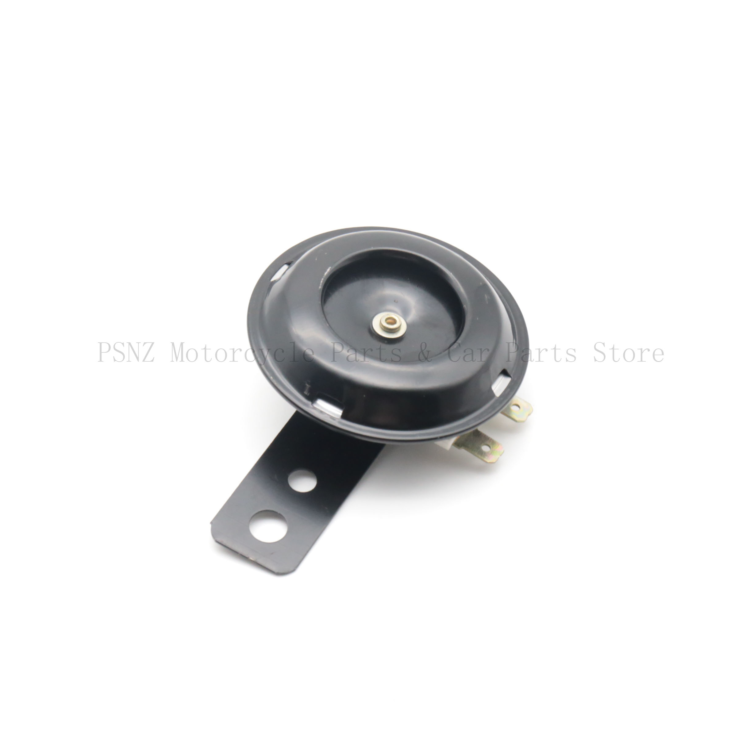Universal Motorcycle Electric Horn kit 12V 1.5A 105db Round Loud Horn Speaker E