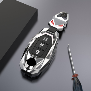Image 5 - רכב אבץ סגסוגת מפתח מקרה כיסוי לניסן Versa מוראנו Rogue Armada Sentra הקאשקאי X trail T32 לאינפיניטי FX35 QX50 אבזרים