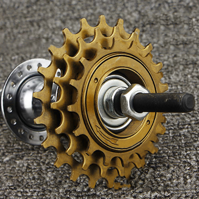 3 Speed Cassette 16/19/22T Ratio Freewheel Mountain Bike MTB Bicycle Cassette Flywheel Sprocket Compatible bicycle accessories