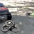 Black Tow Rope Winch...
