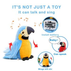 Cute Talking Parrot Toy Electr