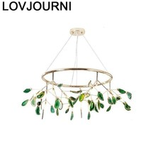 Hanglampen Voor Eetkamer Industrial Lamp Luminaire Suspendu Loft Crystal Light Lampara Colgante Deco Maison Hanglamp
