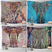 Психоделический подвесной гобелен в стиле Триппи с изображением