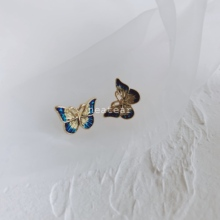 Neatear 2019 New Golden Butterfly Animal Earrings Simple Fashion Elegant Party Womens