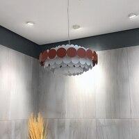Nordic pendurado lâmpadas de teto lâmpada pendurada ferro quarto sala estar decoração casa e27 luminária suspendu