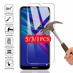 5/3/1Pcs protective for huawei y9 prime y9s y9A y8s y8p y7 y6 pro 2019 y6s y5 lite 2018 tempered glass phone screen protector
