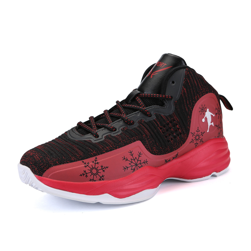 Jennifer Men Basketball Shoes Blue Red Comfortable Male Athletic Sneakers Outdoor Women Basketball Trainer Zapatillas De Hombre
