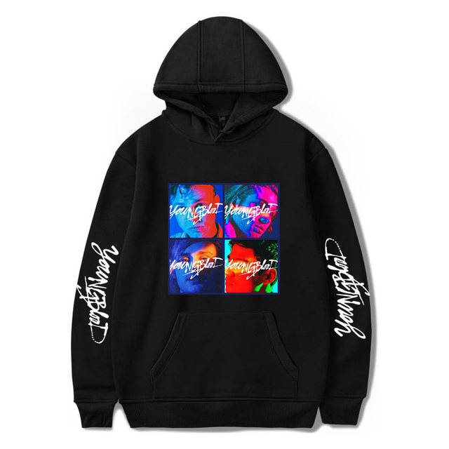 5SOS YOUNGBLOOD THEMED HOODIE (26 VARIAN)