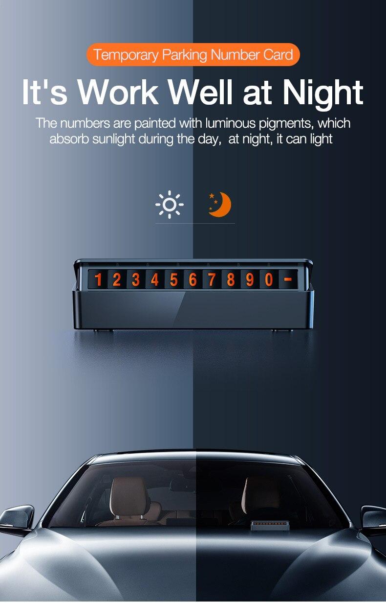 Car Temporary Parking Card (6)