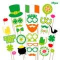 Besegad 29 шт. на День Святого Патрика; Реквизит для фотокамер; С капюшоном для взрослых и детей, ирландское пиво вечерние свадебные сувениры на п...