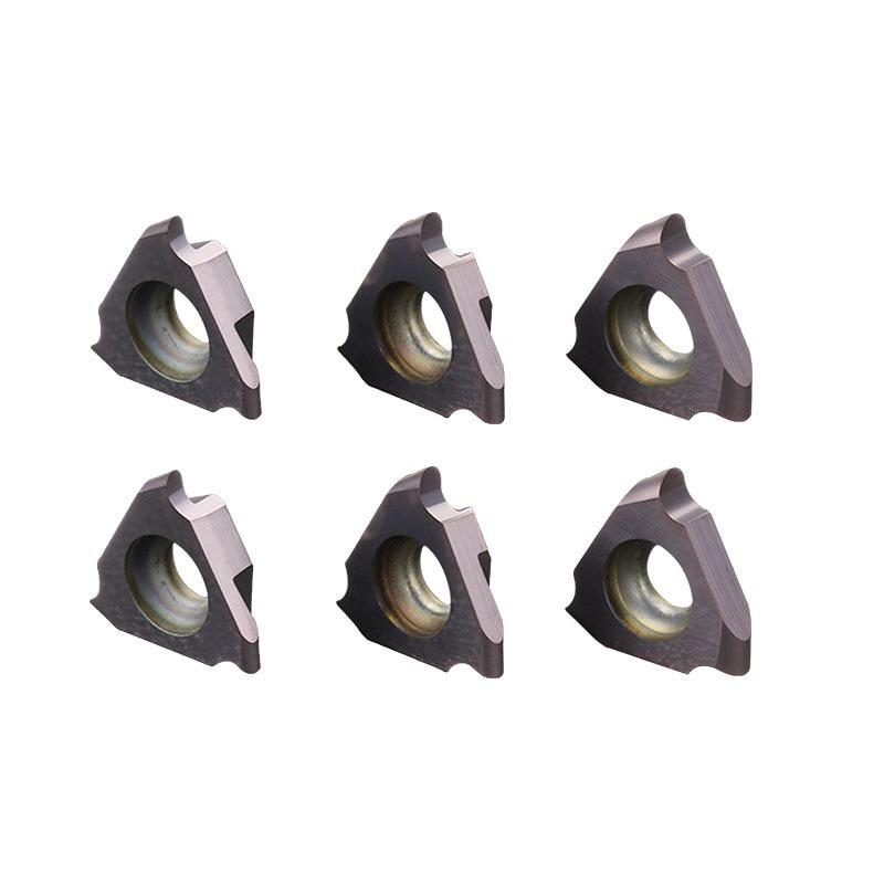 10PCS TGF32R100-R0.5 JC1125 round edge grooving inserts 0.5mm 0.75mm 1.0mm 1.5mm carbide inserts triangle cutting inserts