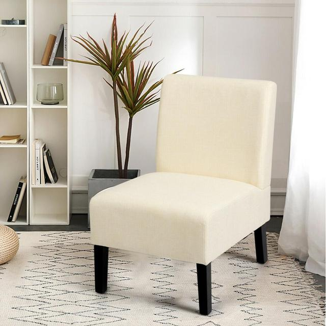 Armless Accent Leisure Chair  3