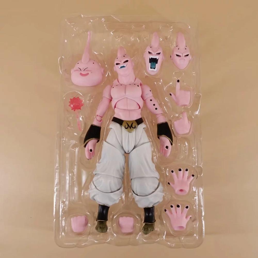 Dragon Ball Z Majin Buu, шарнирное движение, фигурка из ПВХ, Коллекционная модель, игрушки, игрушки для рождественского подарка, 15 см