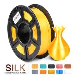 Enotepad 3D filament SILK Filament LIGHTGOLD 1kg 2.2 lbs 1.75mm per roll 3D Printer Filament DIY for 3D printing  sublimation