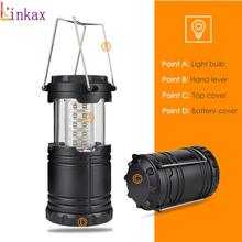 Ultra Bright Collapsible 30 Led Lightweight Camping Lanterns tent Light For Hiking Emergencies Portable Lantern