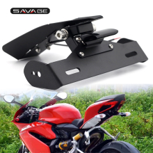 Motorcycle License Plate Holder For DUCATI Panigale 959 1299 2017 Panigale/S/R 1199 899 2014 Tail Tidy Fender Eliminator Support
