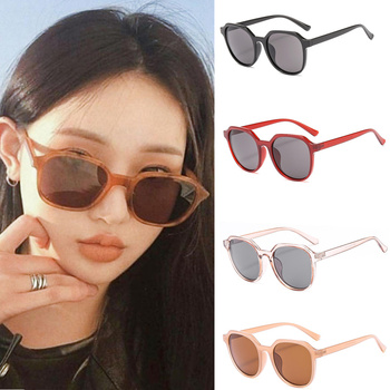 Classic Retro Cat Eye Sunglasses Women/Men Polarized UV400 Fashion Wild Round Frame Jelly Color Sun Glasses New Fashion image