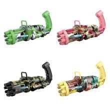 Bubble Gun Toys New Automatic Bubble Gun Machine Kids Toy Music Gun Outdoor/Party/Bath Toys Birthday Gift For Children Boy Girls