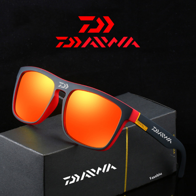 Daiwa Fishing Glasses Outdoor Sport Fishing Sunglasses Men Glasses Cycling Climbing Sunglasses Polarized Glasses Fishing 1888#