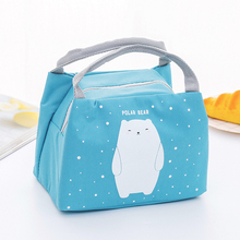 Lunch-Bag Picnic Girl Outdoor Cute Thermal-Insulation-Storage Cartoon Women Student