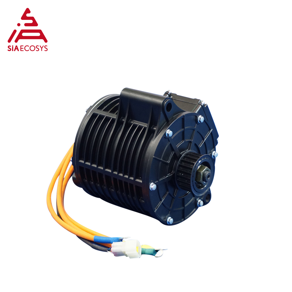 QSmotor 138 <font><b>3kw</b></font> 72V 100KPH Mid drive <font><b>motor</b></font> BLDC <font><b>motor</b></font> 3000w power train sprocket type V1 type and V2 type image