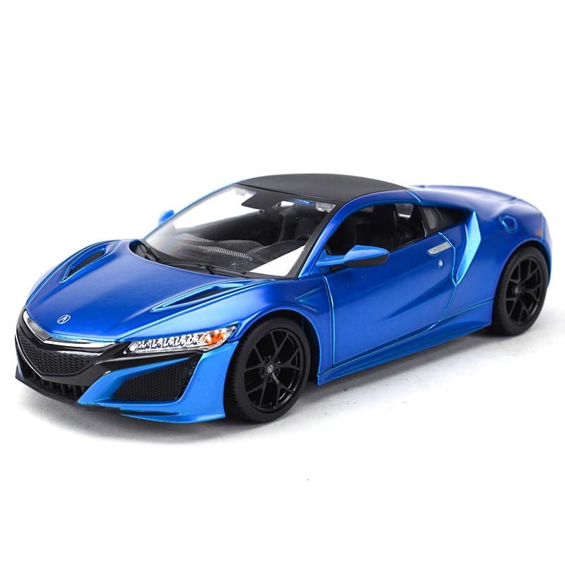 Maisto 1:24 2018 Acura Nsx Sports Car Static Simulation Diecast Alloy Model Car