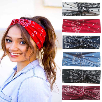 New Fashion HeadBand Girls Bohemian Hair Bands Women Headbands Vintage Cross Turban Bandage Bandanas HairBands Hair Accessories new girls vintage cross knot elastic hairbands soft solid print headbands bandanas girls hair bands hair accessories for women