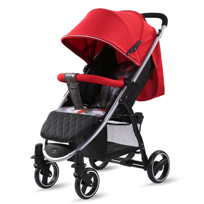 Luxurious Baby Stroller Portable Travel Baby Carriage Light Folding Pram High Landscape Aluminum Frame Stroller for Newborn Baby